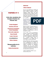 PAPERS Nº 5