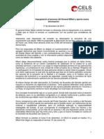 Milani -Ratificacion Impugnacion Senado