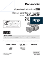AG-AC90 Operating Instructions Basic