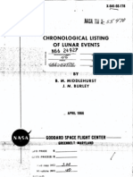 6404213 NASA Technical Report NASA Tr R277 Chronological Catalog of Reported Lunar Events From 1540 to 1966