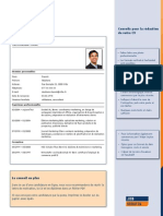 910 Exemple de CV JobScout24