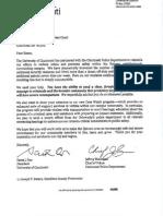 UC letter