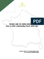 Housing Guide Euraxess France