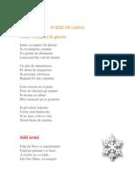 0 Poezii de Iarna