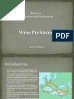 Wine Prehistory