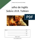 Trabalho de Inglês Sobre J