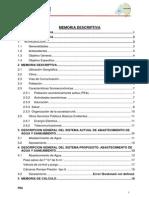 Memoria Descriptiva (1° ETAPA)