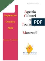 Agenda Septembre Octobre 2009