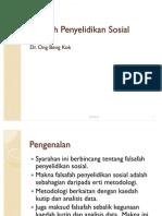 Falsafah-Penyelidikan-Sosial