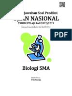 Kunci Jawaban Soal Prediksi UN Biologi SMA 2013