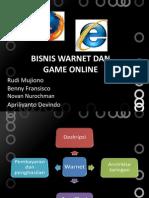 Warnet Dan Game Online