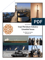 Iraq's Petroleum Industry - Unsettled Issues