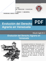 Evol Derecho Agrario en Venezuela