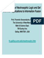 Foundations of Neutrosophic Logic and Set