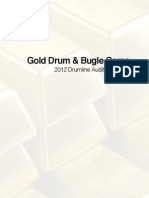 Gold Drumline Audition Packet 2012
