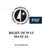 Minnesota DOT Right of Way_MANUAL2007