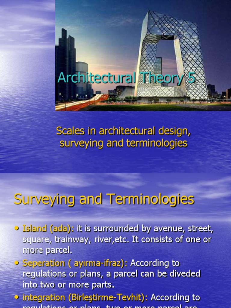 Architectural Theory  ppt | Wall | Nature