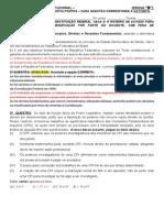 Direitos Constitucional - Prova B - Publicacao Retificada Em 070213
