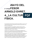 4º ENSAYO DE ARNOLD EHRET