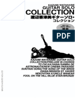 Kazumi Watanabe - Guitar Solo Collection