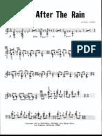 Mitchell Peters - Yellow After the Rain (Marimba 4 Mallets)