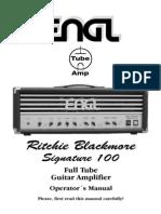 engl E650 II Ritchie Blackmore