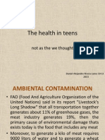 The Health in Teens