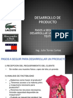 DDP II Pasos a Seguir Para Desarrollar Un Producto