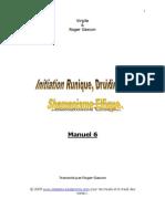Initiations Runique, Druidique Et Shamanisme Elfique (Manuel 6)