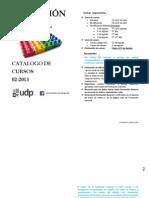 Catalogo Formacion General II 2013