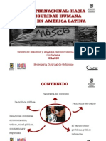 Presentación Tráfico y consumo de bazuco en Bogotá
