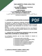 Derecho Fizcal Dominicano