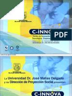 Presentacion Institucional del c-innova