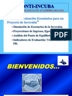 Estudio y Evaluacion Economica Proyecto Inversion
