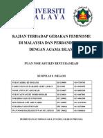 Kajian Terhadap Gerakan Feminisme Di Malaysia Dan Perbandingan Dengan Agama Islam