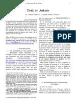 Paper IEEE Model