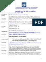 ACNUExpress Vol.4 No.12 - du 16 au 31 août 2009