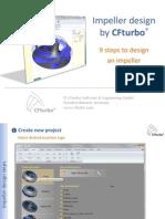 Impeller Design using CFTurbo