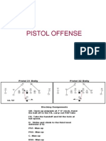 Chris Ault's Nevada Pistol Offense