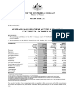 131220_Australian Government Monthly Financial Statements October 2013 -...