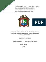 DEGRADACIÓN MEDIANTE VOLATILIZACIÓN  DE SUELOS CONTAMINADOS POR DERRAMES DE  HIDROCARBUROS
