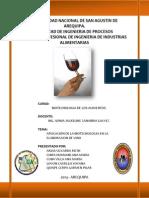 Trabajo de Biotecnologia (Vinos )