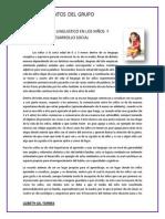 DESARROLLO LINGUISTICO EN LOS NIÑOS  Y DESARROLLO SOCIAL.docx