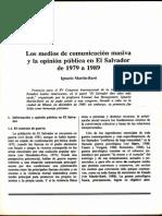 (1989d) Los medios de comunicación masiva y la opinión pública
