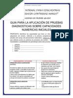 Guia para la aplicacion de pruebas diagnosticas sobre capacidades numericas iniciales.docx