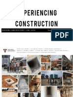 Experiencing Construction - The Report