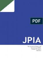 JPIA Fall 2013