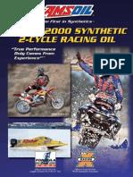 Amsoil Series2000 2 Cycle Brochure