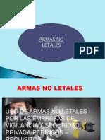 Conocimiento de Armas No Letales
