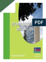 Informe Rendicion Cuentas 2008